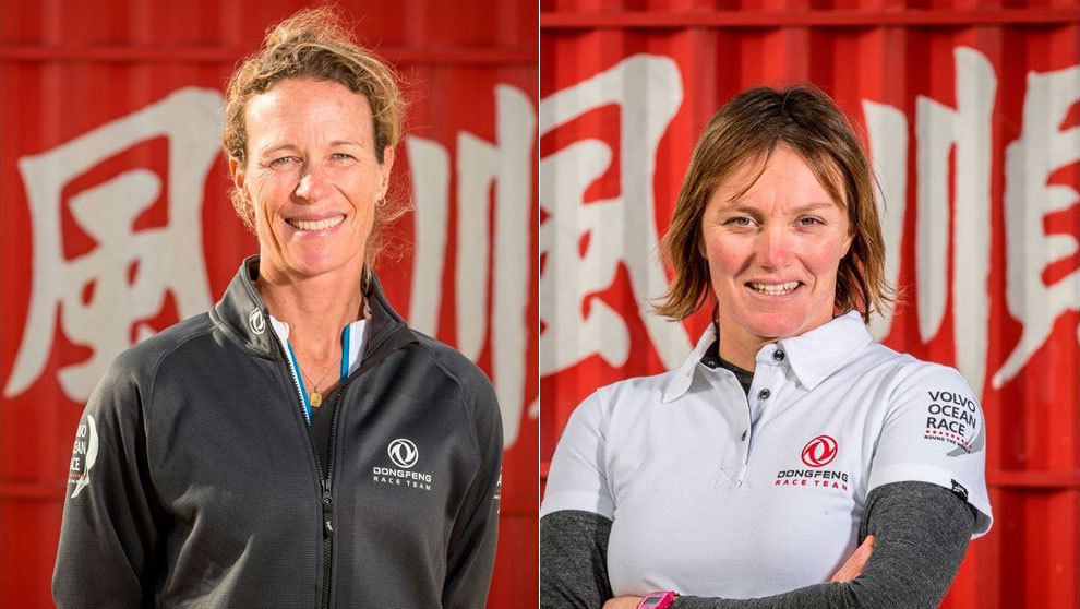 Brouwer y Riou del Dongfeng Race Team