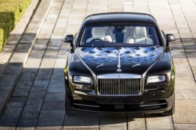 El Rolls-Royce diseñado por Daltrey (The Who), inspirado en la...