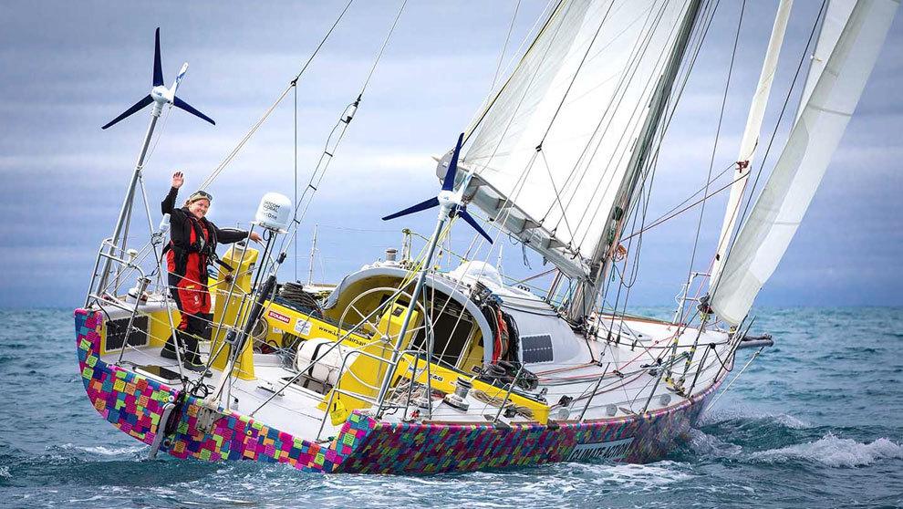 Lisa Blair, tras zarpar de Australia | Koop /...