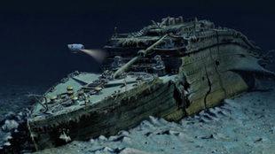 Se hundió hace 105 años. Los restos del Titanic permanecen bajo el...