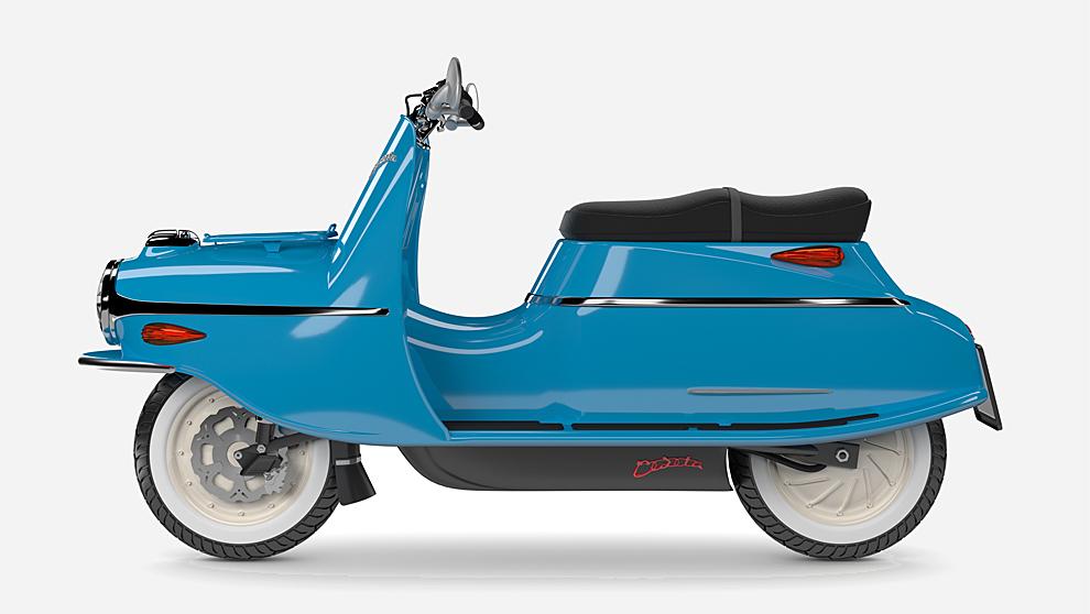 Cezeta, una moto clásica que renace con motor eléctrico. Solo hay...