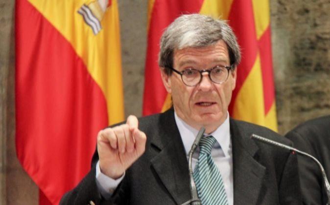 El presidente de la Autoridad Portuaria de Valencia, Aurelio...