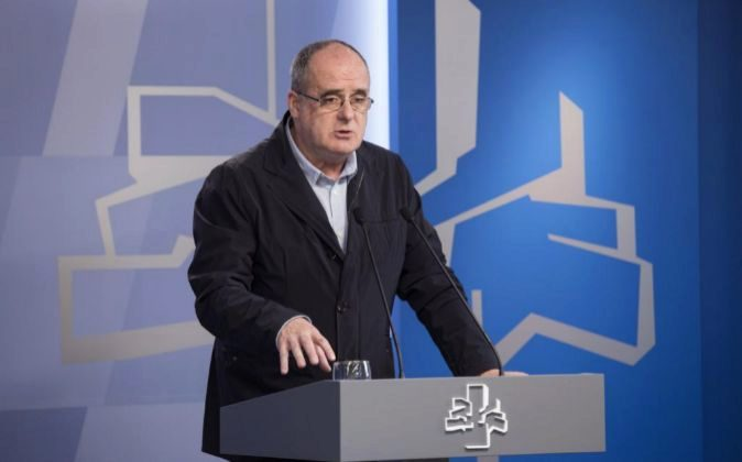 El portavoz del PNV Joseba Egibar.