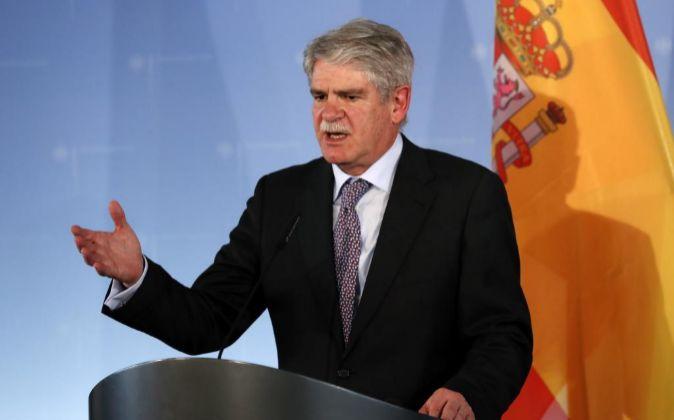 El ministro español de Exteriores, Alfonso Dastis