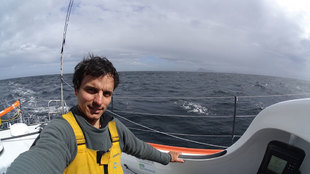 Didac Costa, a su paso por el Cabo de Hornos | Olivier Blanchet / DPPI