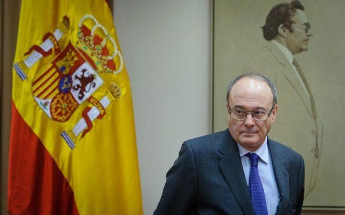 Luis María Linde, gobernador del Banco de España.