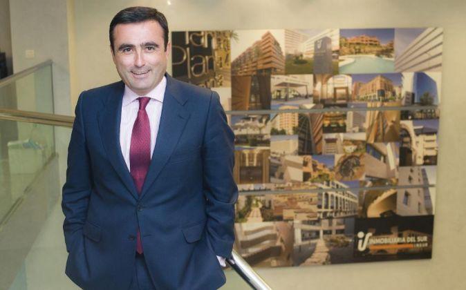 Francisco Pumar López, director general de Inmobiliaria del Sur...