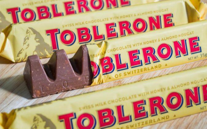 Tabletas de Toblerone.
