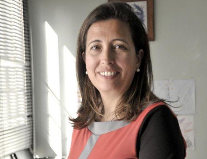 Ana Chocano, presidenta de CEACOP, posa en la sede de Sevilla.