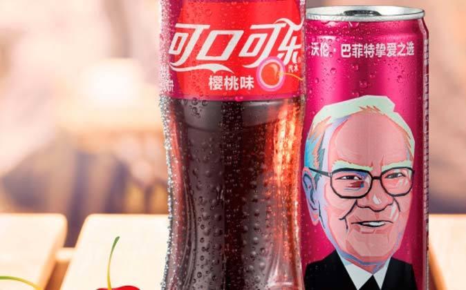 Imagen de las nuevas latas de Coca Cola con sabor a cereza que se...