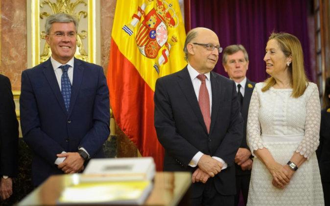 Presentación de los PGE de 2017 en el Congreso de los Diputados.