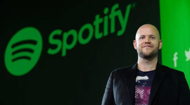 Daniel Ek, presidente y CEO de Spotify