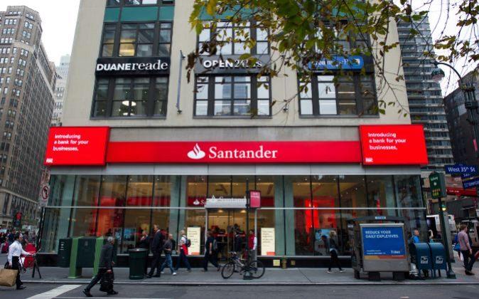 Sucursal de Banco Santander en Nueva York