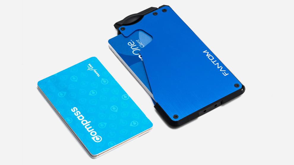 b912c7e90 Fantom Wallet es un tarjetero con capacidad para guardar tarjetas, dinero  en efectivo y otros complementos como las llaves.