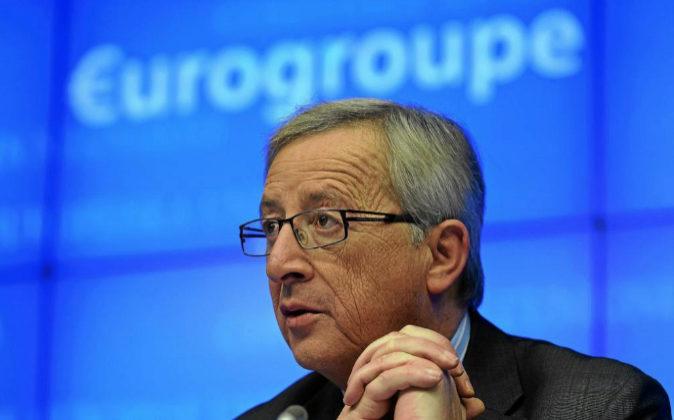 Jean Claude Juncker, presidente del Eurogrupo, en una imagen de...