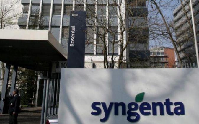 Sede de la compañía Syngenta en Basilea. Foto: EFE/Georgios Kefalas