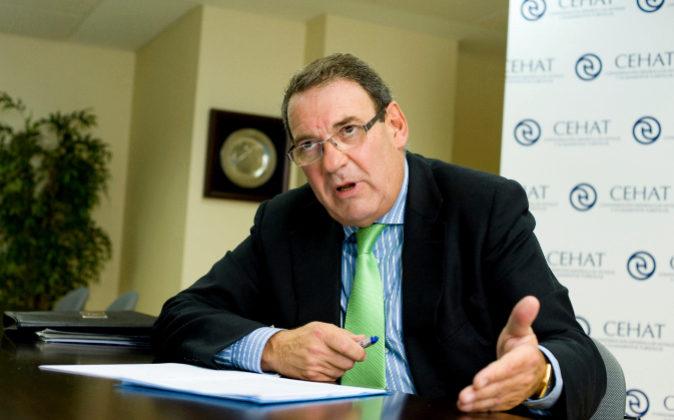 Juan Molas, presidente de la Confederación Española de Hoteles y...