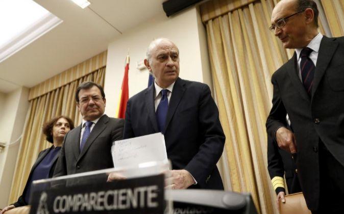 El exministro del Interior, Jorge Fernández Díaz.