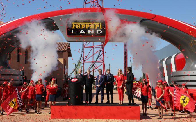 Inauguración de Ferrari Land