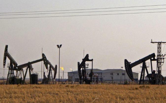 Imagen de instalaciones petrolíferas en Siria