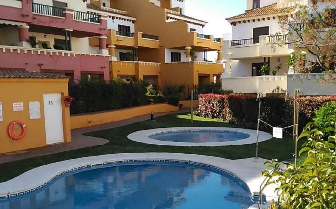 Imagen de una de las promociones que vende Martinsa Fadesa en Huelva.