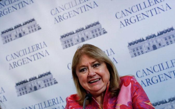 La ministra de Exteriores de Argentina, Susana Malcorra.