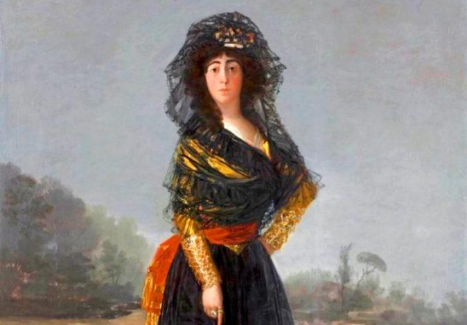 Goya 'La duquesa de Alba' (1797), The Hispanic Society of...