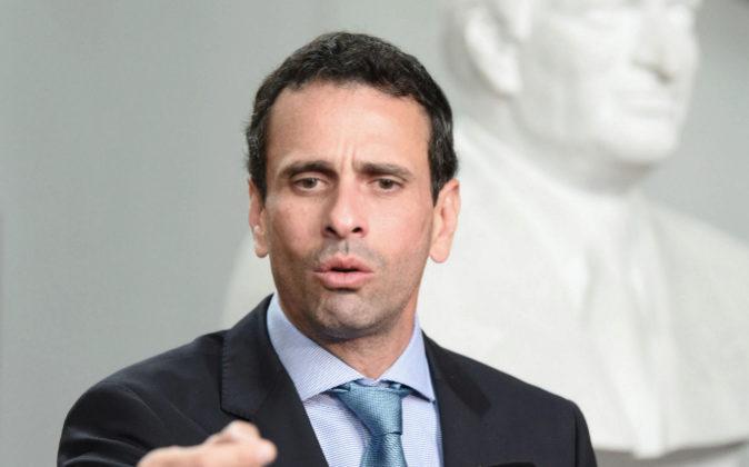Henrique Capriles.