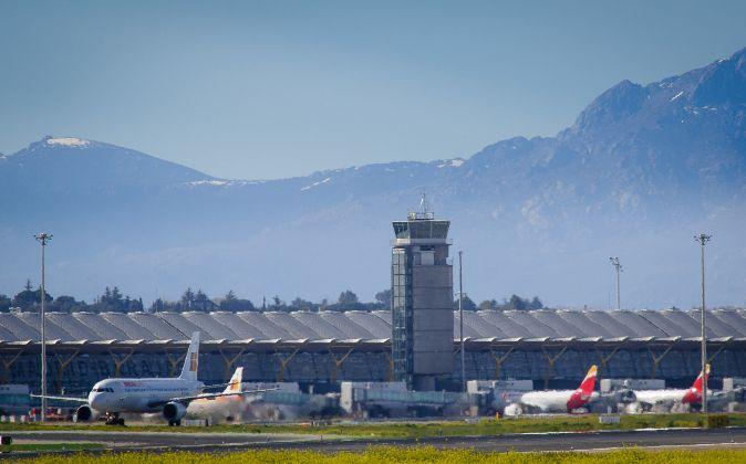 Aeropuerto Adolfo Suárez Madrid-Barajas.