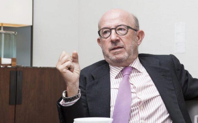 Emilio Saracho, presidente del Popular