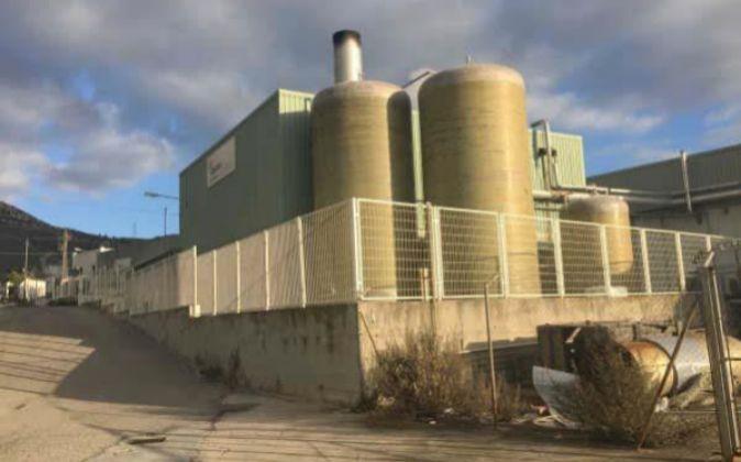 Instalaciones industriales de Abelan en Alcover.