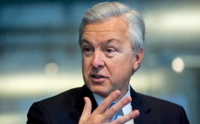 El exconsejero delegado de Wells Fargo John Stumpf.