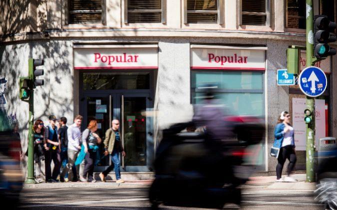 Sucursal de Banco Popular en Madrid