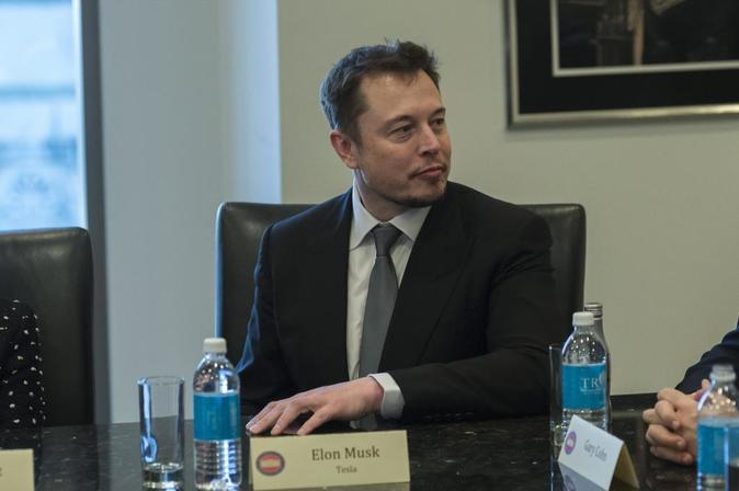 El consejero delegado de la compañía Tesla, Elon Musk.