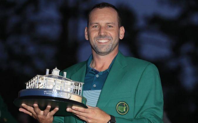 Sergio García se enfundó la chaqueta verde del Masters de Augusta el...