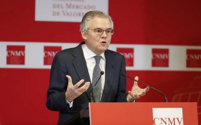 Sebastián Albella es el presidente de la CNMV.