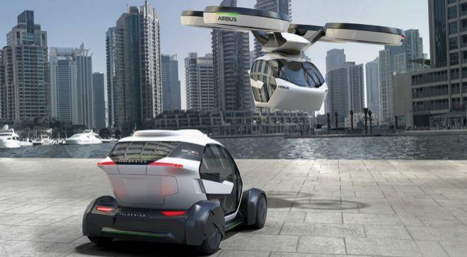 El prototipo Pop Up está concebido como un vehículo rodante y...