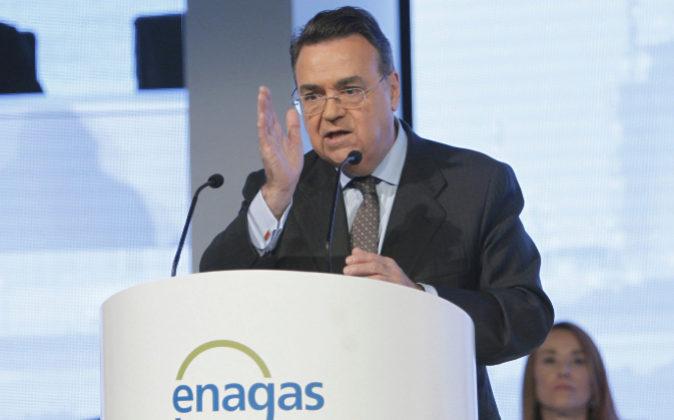 El presidente ejecutivo de Enagás, Antonio Llardén.