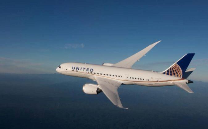 Avión de United Airlines.