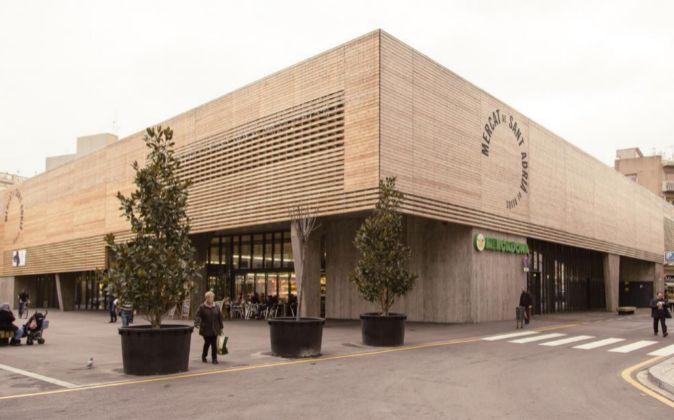Uno de los nuevos supermercados de Mercadona, en el interior del...