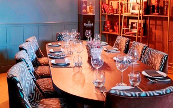 Glenfiddich Room es un reservado de Fox, que asegura intimidad.