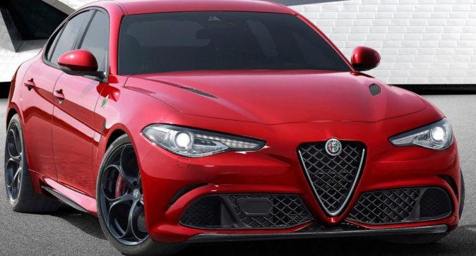 Modelo del Alfa Romeo Giulia premiado