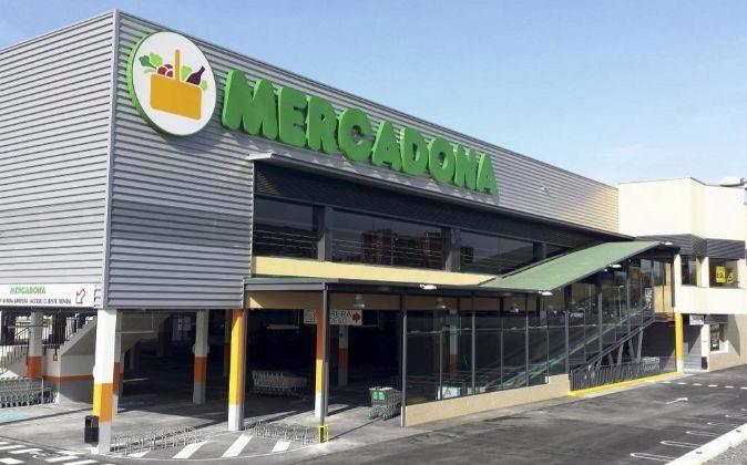 Supermercado de Mercadona.