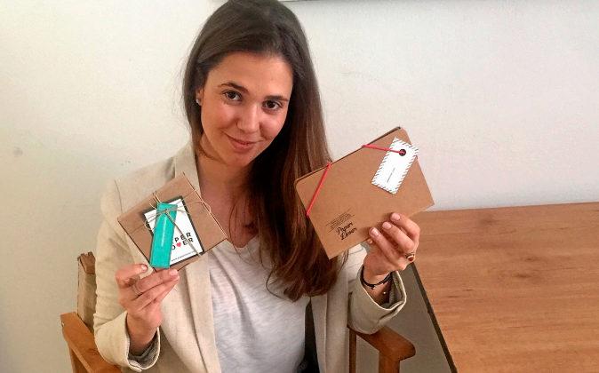 Guillermina Rosés, diseñadora de la aplicación 'Paper...