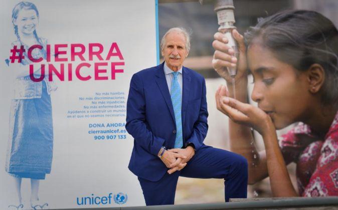 Carmelo Angulo, presidente de Unicef España.