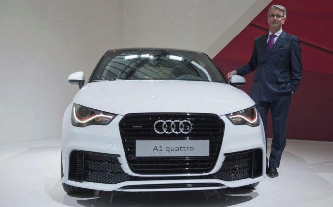El consejero delegado de Audi, Rupert Stadler.