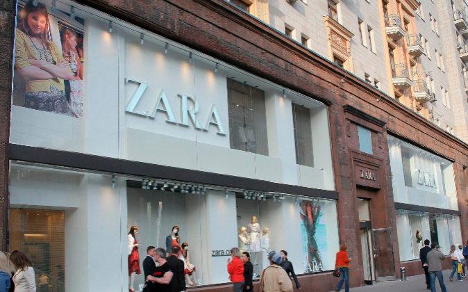 Imagen de archivo de una tienda de Zara en Moscú.