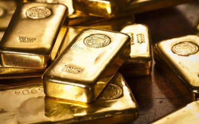 Imagen de lingotes de oro