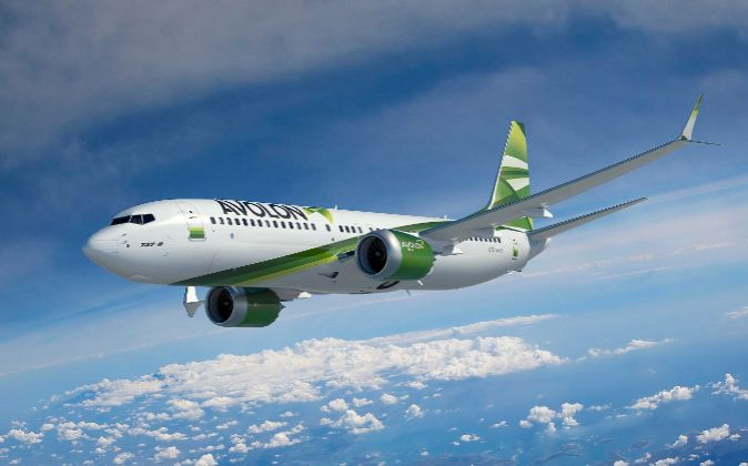 Avión Boeing 737 MAX