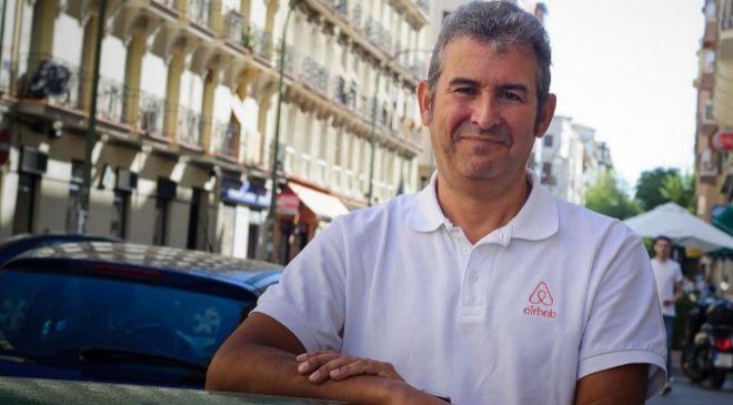 Arnaldo Muñoz, director general de Airbnb en España y Portugal.